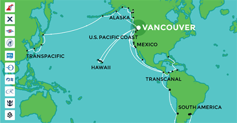 Cruise Ships Itineraries Departures Amp Destinations U S Ports